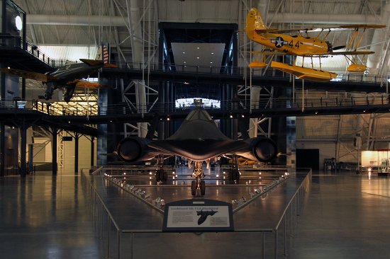 Chantilly, VA: Lockheed SR-71 Blackbird