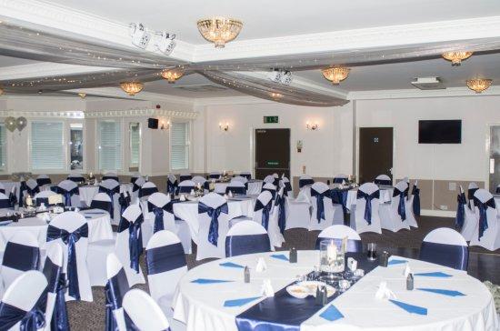 Canvey Island, UK: Upstairs wedding function room