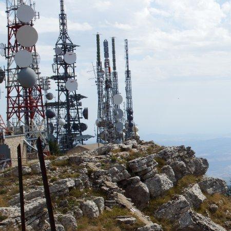 la cima del Monte Cammarata