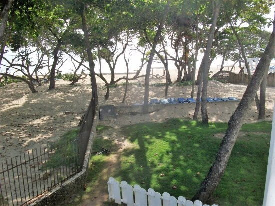 Be Live Collection Marien: View from room showing partialy dismantled stage