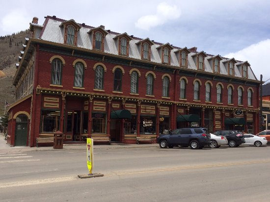Silverton, CO: Exterior of the Grand Imperial Hotel