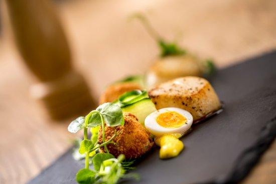 Hazlewood, UK: Sample dish