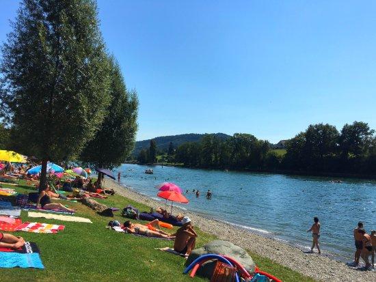 Gailingen, Allemagne : Пляж