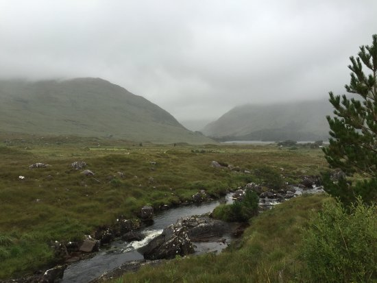 Leenane, Irland: View from hiking trails