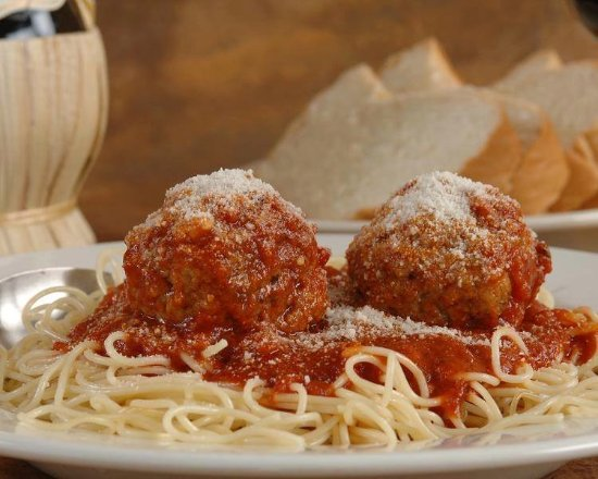 Marshfield, MA: Our Homemade Spaghetti & Meatballs in Our Traditional Red Sauce