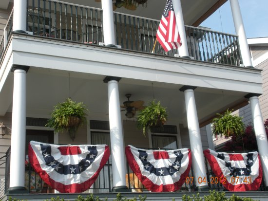 July 4th at the Haynes Bed and Breakfast