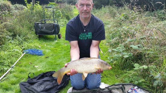 Grampound, UK: Fab fishing. Overnight just not enough. Definitely be repeat visitors