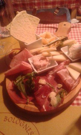 Osteria Bolognese: Antipastis