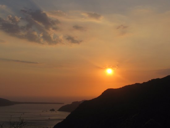 Csky Hotel: sunset