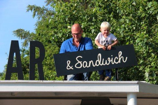 Slagelse, Denmark: Kaffebar og sandwich