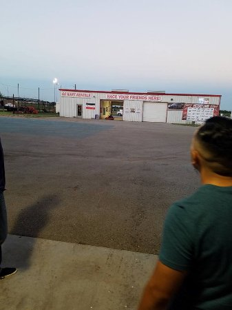 Kyle, TX: the Kart garage