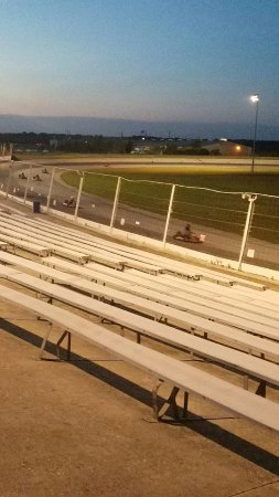 Kyle, TX: Karts on the track