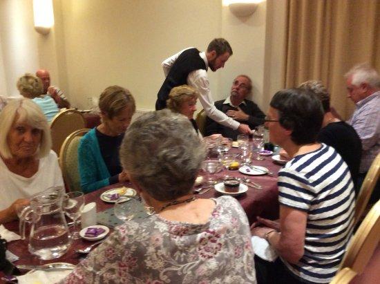 Membly Hall Hotel: Dinner