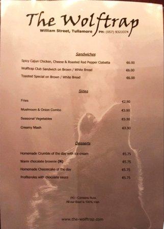 The Wolftrap Bar & Restaurant