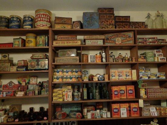 1930s Coop store inside Radstock Museum