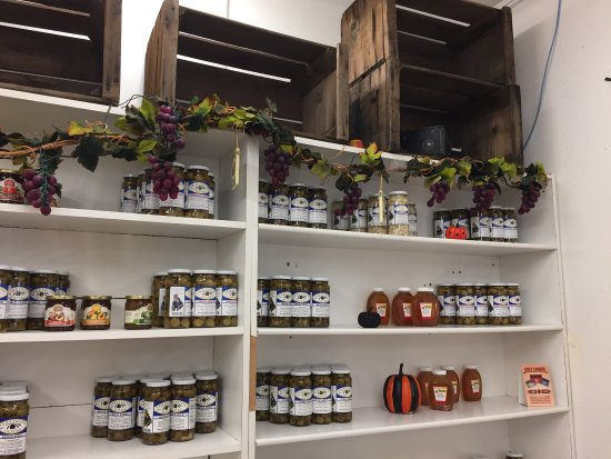 Strathmore, Californië: Got olives?