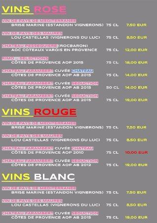 La Garde, Frankrijk: Carte
