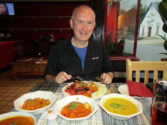 Newtonmore, UK: a delicious range of dishes