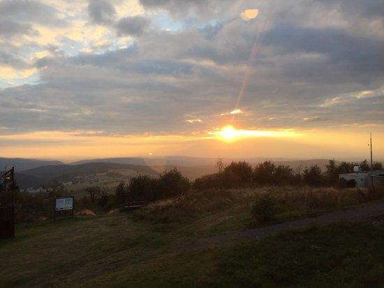 Neuhausen, Alemanha: Sonnenuntergang