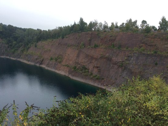 Chepstow, UK: Empty quarry