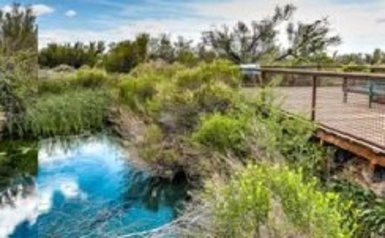 Amargosa Valley, NV: the Crystal spring is really beautiful blue, and has endangered pupfish. Be sure to see the vide