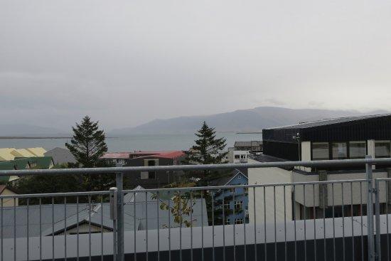Alda Hotel Reykjavik : View from balcony of room
