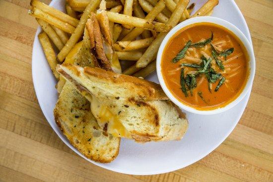 Kirkland, WA: Grilled Cheese & Tomato Basil Soup