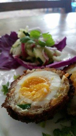 Playa Potrero, Costa Rica: Singapore Egg