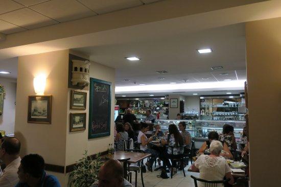 Interior of The Malte restaurant, San Gwann, Malta.
