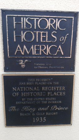 The King and Prince Beach and Golf Resort: National Register of Historic Hotels