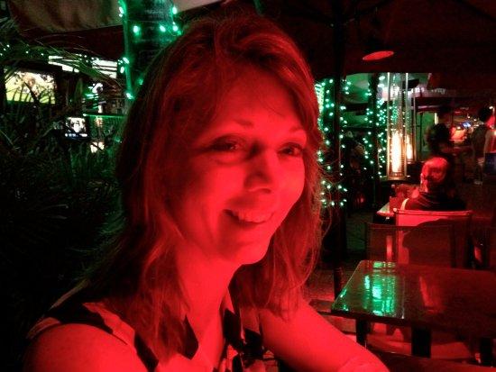 Postcard Inn Beach Resort & Marina at Holiday Isle: sitting at the Old TiKi bar