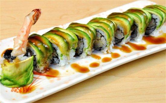 Sushi Yamato & Coreen: dragon roll