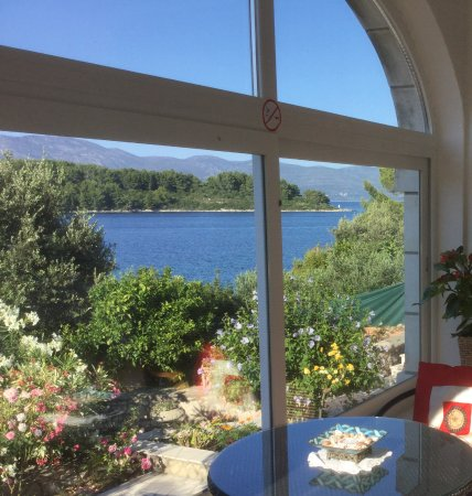 Lumbarda, Croatia: Magnifiscentnt view from your room