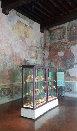 Palestrina (RM): Museo Archeologico (Palazzo Barberini): affreschi parietali.