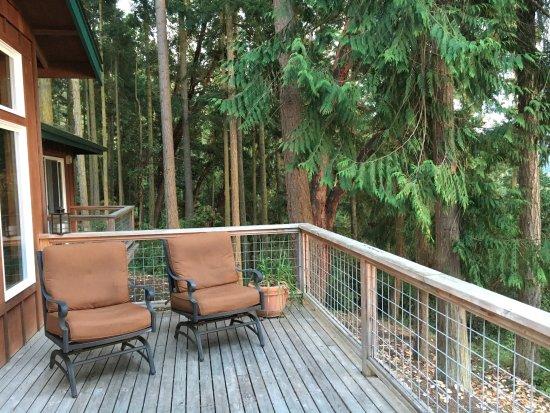 Sunset Marine Resort: Deck on Osprey's Nest