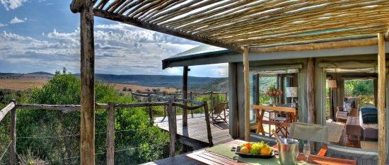 HillsNek Safaris, Amakhala Game Reserve: All tents have exquisite views of the plains