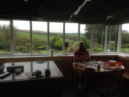 Morwenstow, UK: from conservatory