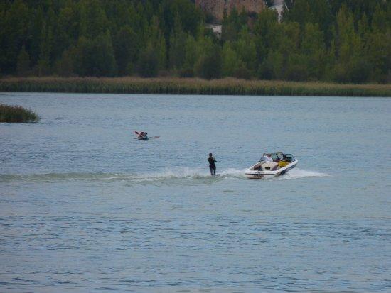 Cellers, Испания: Actividades acuáticas en el Lago Terradets
