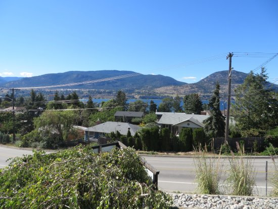 Penticton, Kanada: View from the patio