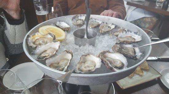 Cafe Sydney: Sydney Rock Oysters