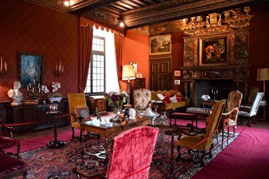 Azay-le-Rideau, France : Het interieur