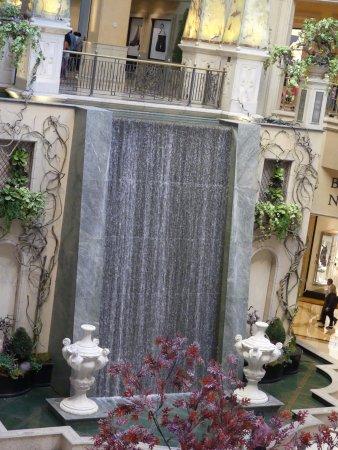 The Pes At Palazzo A Small Man Made Waterfall