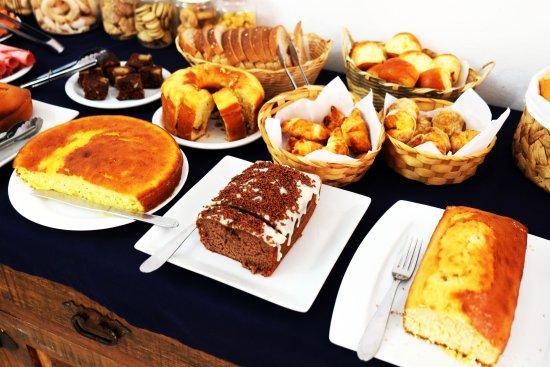 Pousada Ramalhete: café da manhã