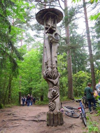 Juodkrante, Lithuania: La Collina delle Streghe