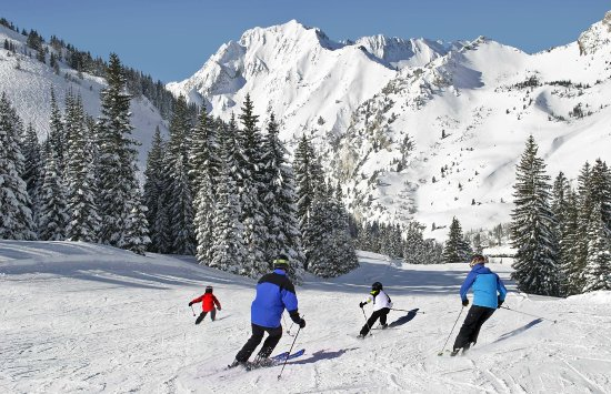 Skiing is a family affair in Alta, Utah