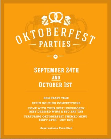 Langley City, Canada: OKTOBERFESTIVITIES In The (Public) House!