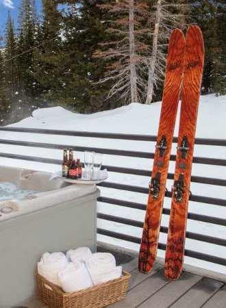 Alta, UT: Relax in your private hot tub after a day on the slopes