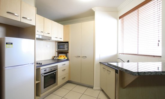 Caloundra, Australia: Kitchenette or fully equipped kitchen
