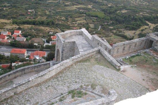 Klis, Croazia: Inside of forttress