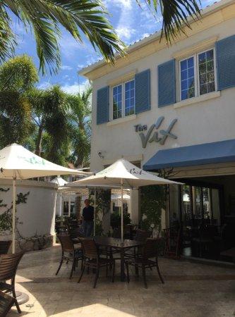 The Regent Grand: Vix restaurant next to the property